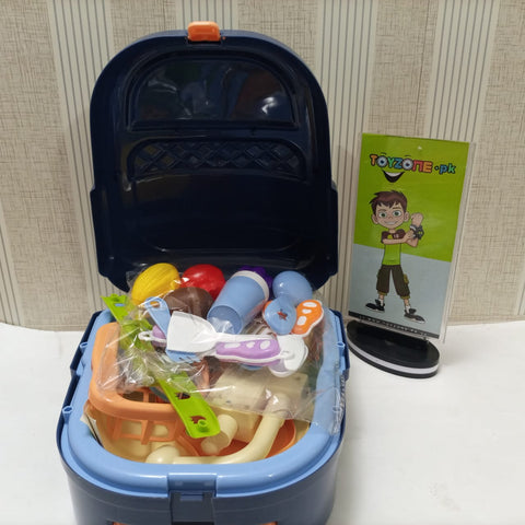 Electric Play Sink Backpack 23 Pcs