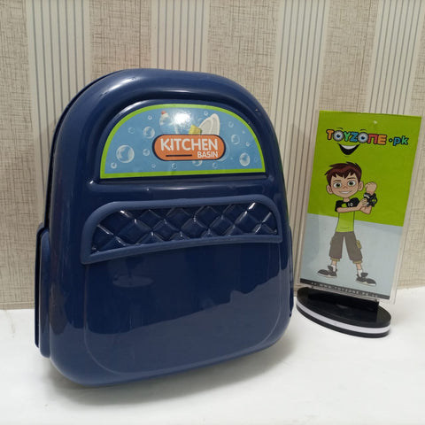 Image of Electric Play Sink Backpack 23 Pcs