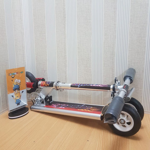 Image of Spartan 100mm Wheel Folding Scooter - Black