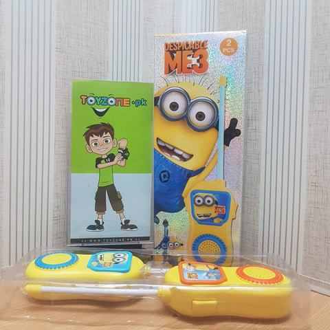 Despicable Me Stuart Character Walkie Talkies