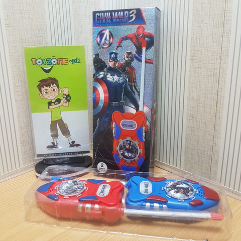 Captain America War 3 Walkie Talkie