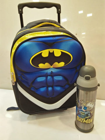 Batman Toddler Trolley School Bag
