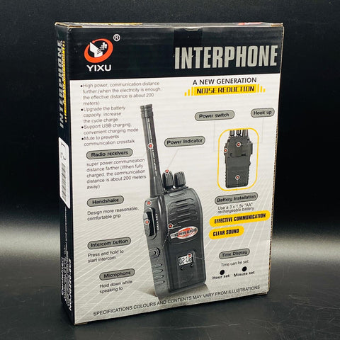 2PCS Wireless Walkie Talkie - TZP1
