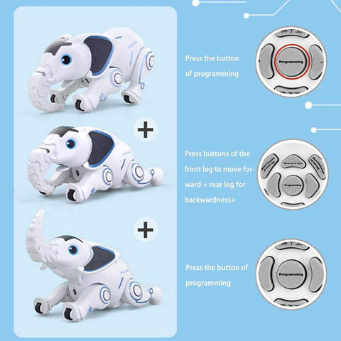 Wireless Elephant Robot Interactive Toy