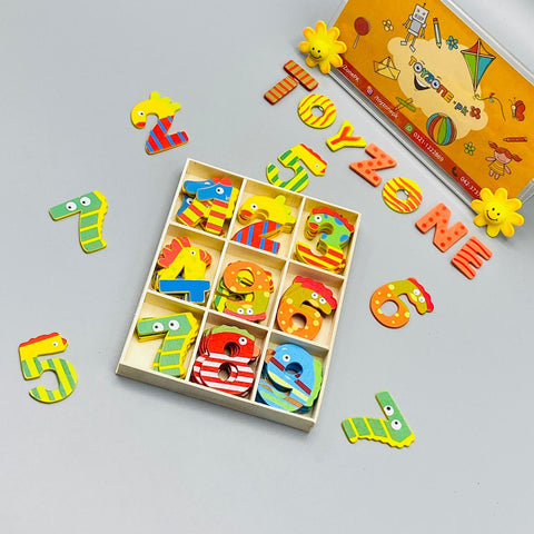 Wooden Colorful Numbers - TZP1