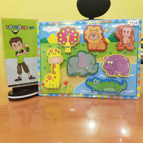 Wooden Peg Puzzles For Kids
