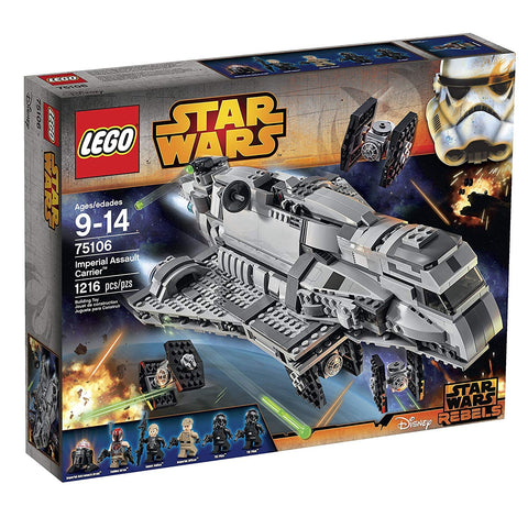Image of LEGO Star War Imperial Assault Carrier™-75106