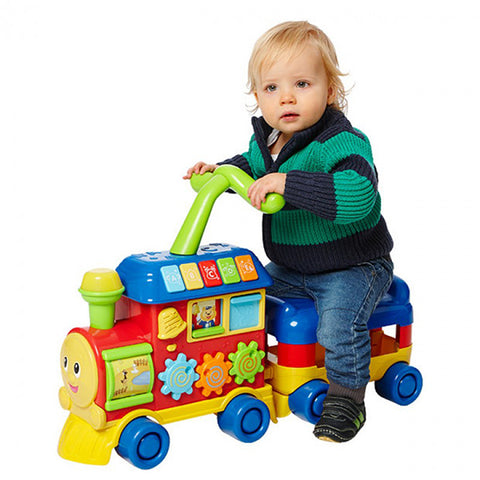 Image of WinFun Baby Walker Ride on Learning Train--0803