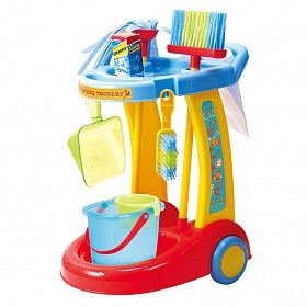 PlayGo Little Housekeeping Trolley