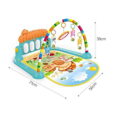 Image of Kick & Play Musical Keyboard Mat Piano