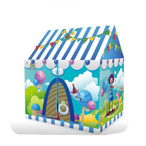 Image of Kids Play Tent House - Circus Game