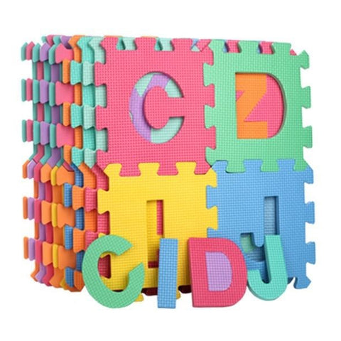 ABC Foam Mat - Alphabet & Number