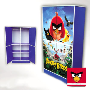 Angry Birds | 4 Door Wardrobe