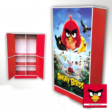 Image of Angry Birds | 4 Door Wardrobe Toyzone