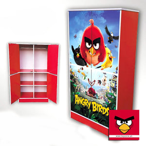 Angry Birds | 4 Door Wardrobe Toyzone
