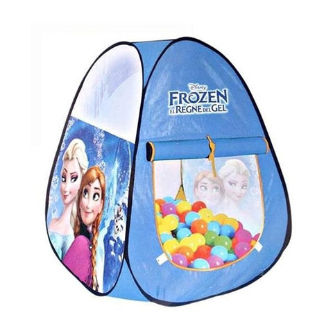 Frozen Tent House With 50 Balls