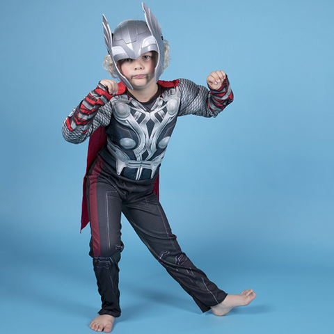 Image of Avengers Thor Muscle Costume with Mask