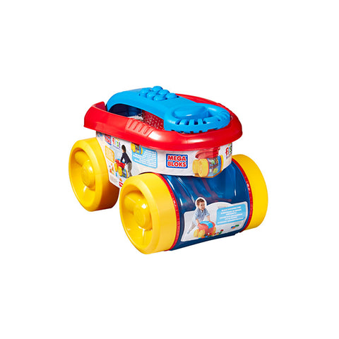 Image of  Mega Bloks Block Scooping Wagon Building Set-CNG23
