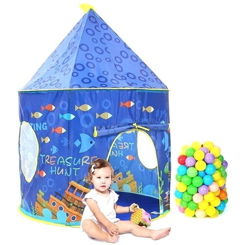Ocean World Pattern Castle Tent-985-41