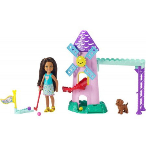 Image of Barbie Club Chelsea Doll & Playset Mini Golf