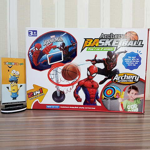 Archery Spiderman Basketball 2 in 1 Sports
