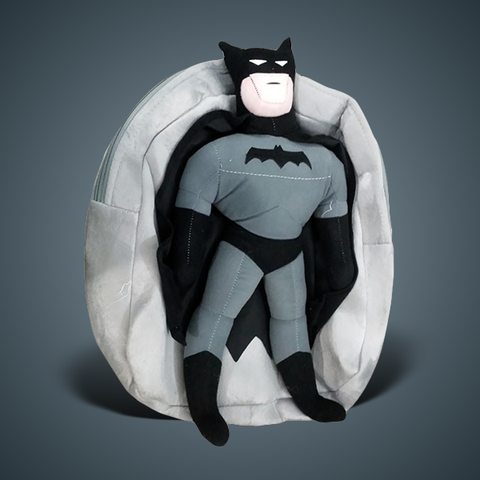Image of Stuff School Bag with Batman Man Figure-4578