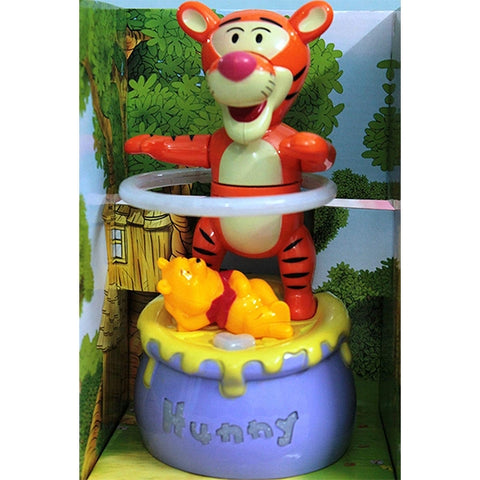 Image of Battery Operated Hula Hoop Bumpand Go Tiger With Winnie