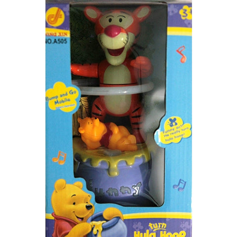 Battery Operated Hula Hoop Bumpand Go Tiger With Winnie