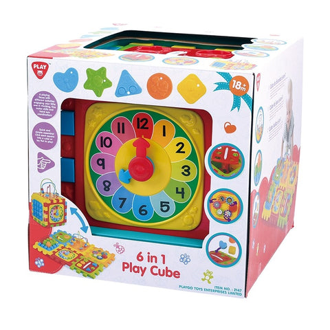 Playgo Play Cube 6in1