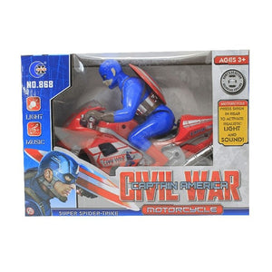 Captain America Civil War Motor Bike-HB-868