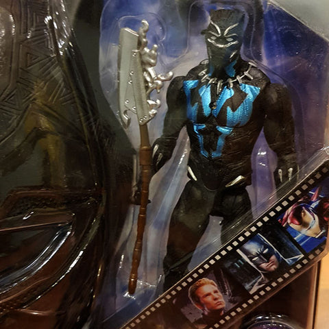 Image of Marvel Avengers Hero - Black Panther Figure With Mask (2in1)