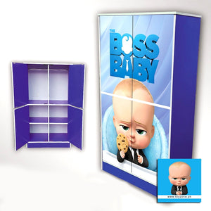 Boss Baby | 4 Door Wardrobe Toyzone