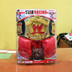 WWE Belt with Boxing Gloves-bb101