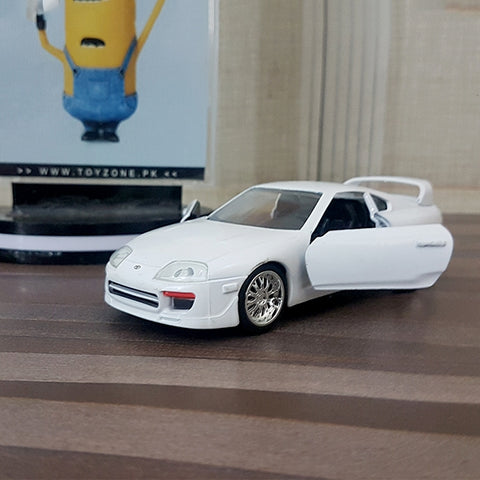 Fast and Furious | Metal Die-Cast Brian's Toyota Supra White
