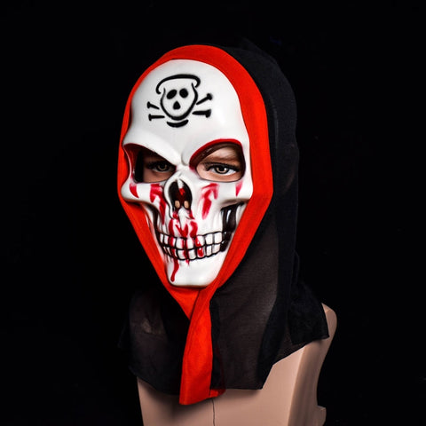 Image of Halloween Skull Vampire Mask