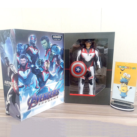 Image of Premium Marvel Avengers Endgame Captain America Figure