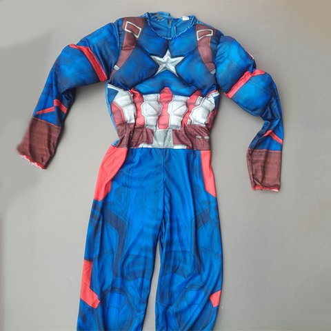 Captain America Muscle Costume