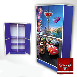 Disney Pixar Cars | 4 Door Wardrobe