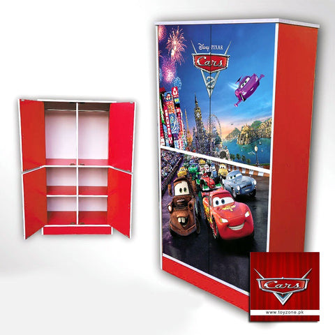 Image of Disney Pixar Cars | 4 Door Wardrobe Toyzone