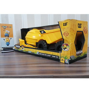 CAT-Construction Crew Sand | Dump Truck