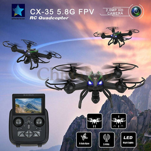 Image of Cheerson CX-35 Quadcopter With HD Gimbal Camera