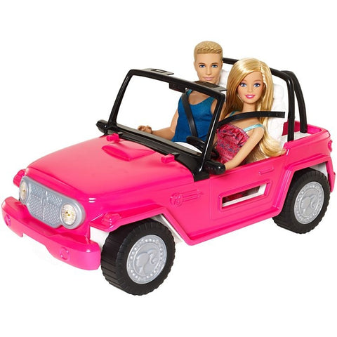Image of Barbie® Beach Cruiser™ + Barbie® & Ken® Dolls