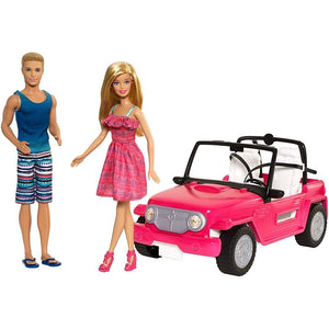 Barbie® Beach Cruiser™ + Barbie® & Ken® Dolls