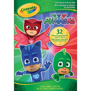 Crayola PJ Mask 32 Pages Games-040076