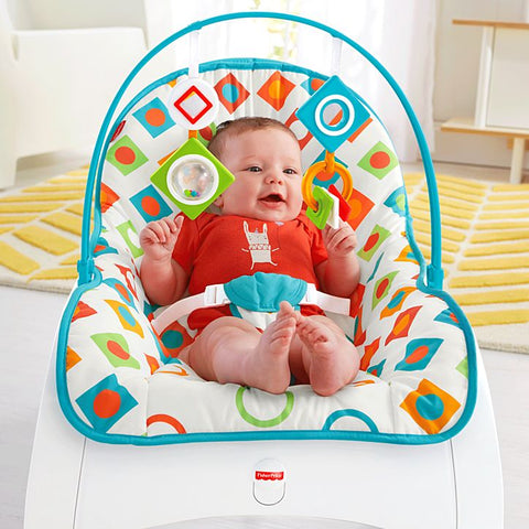 Image of Fisher Price Infant-to-Toddler Rocker Geo Diamonds-CMP83