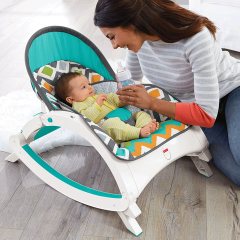 Fisher Price Newborn-to-Toddler Rocker - Glacier Wave