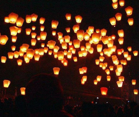 Flying Lanterns (20 PCS)
