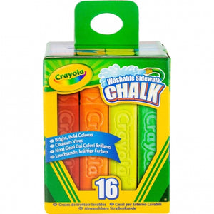 Crayola Washable Sidewalk Chalk-512016