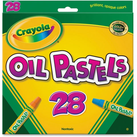 Image of Crayola Jumbo-sized Oil Pestels