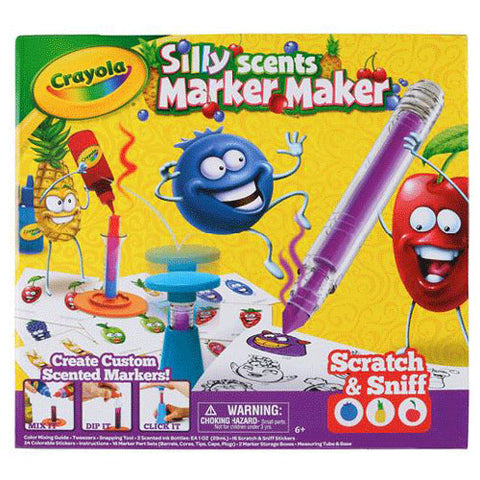 Image of Crayola Silly Scent Marker Maker